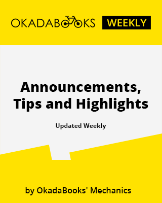 OkadaBooks Weekly: Announcements, Tips and Highlights