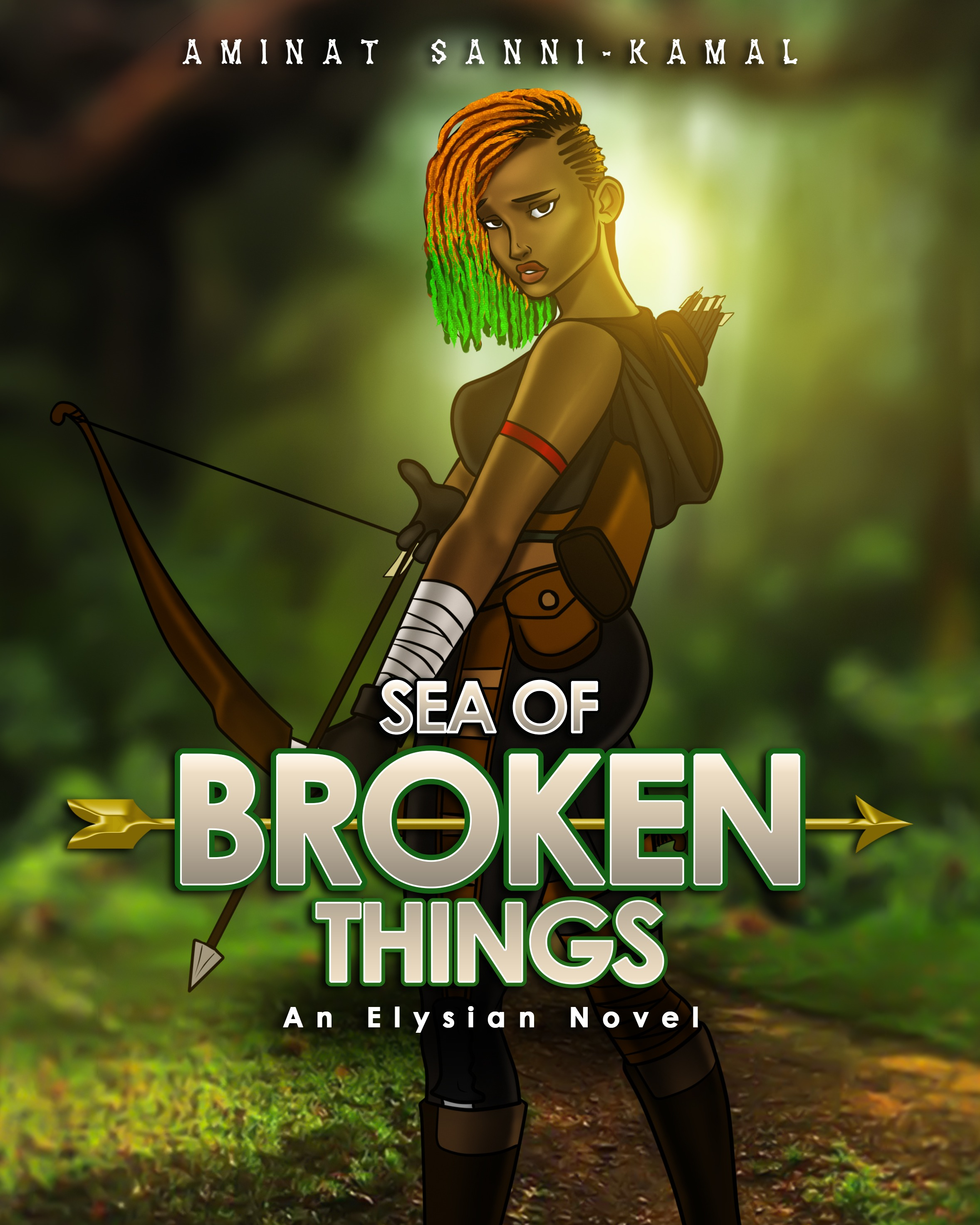 Sea of Broken Things (An Elysian Novel #1)