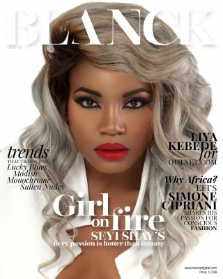Blanck Issue 6 with Seyi Shay
