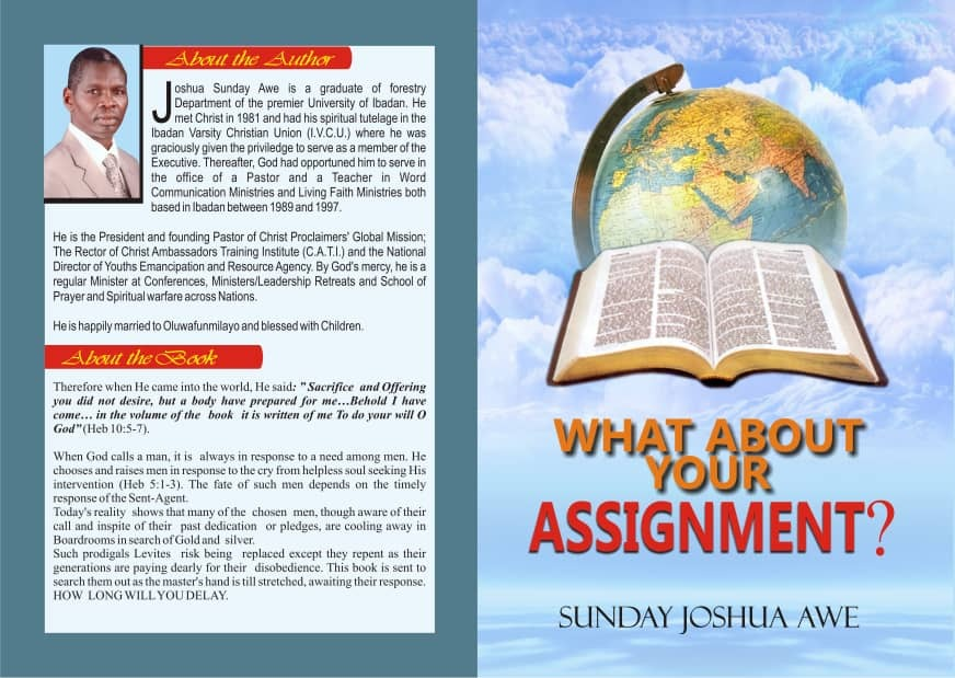 WHAT ABOUT YOUR ASSIGNMENT