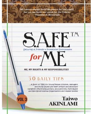 S.A.F.E™ 4 ME Book of TIPS VOL 3