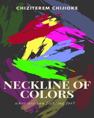 Neckline of color