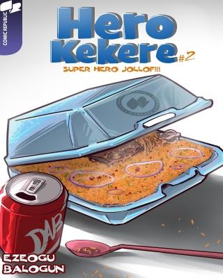 hero kekere #2 Superhero jollof 25-12-2016 Comic Republic