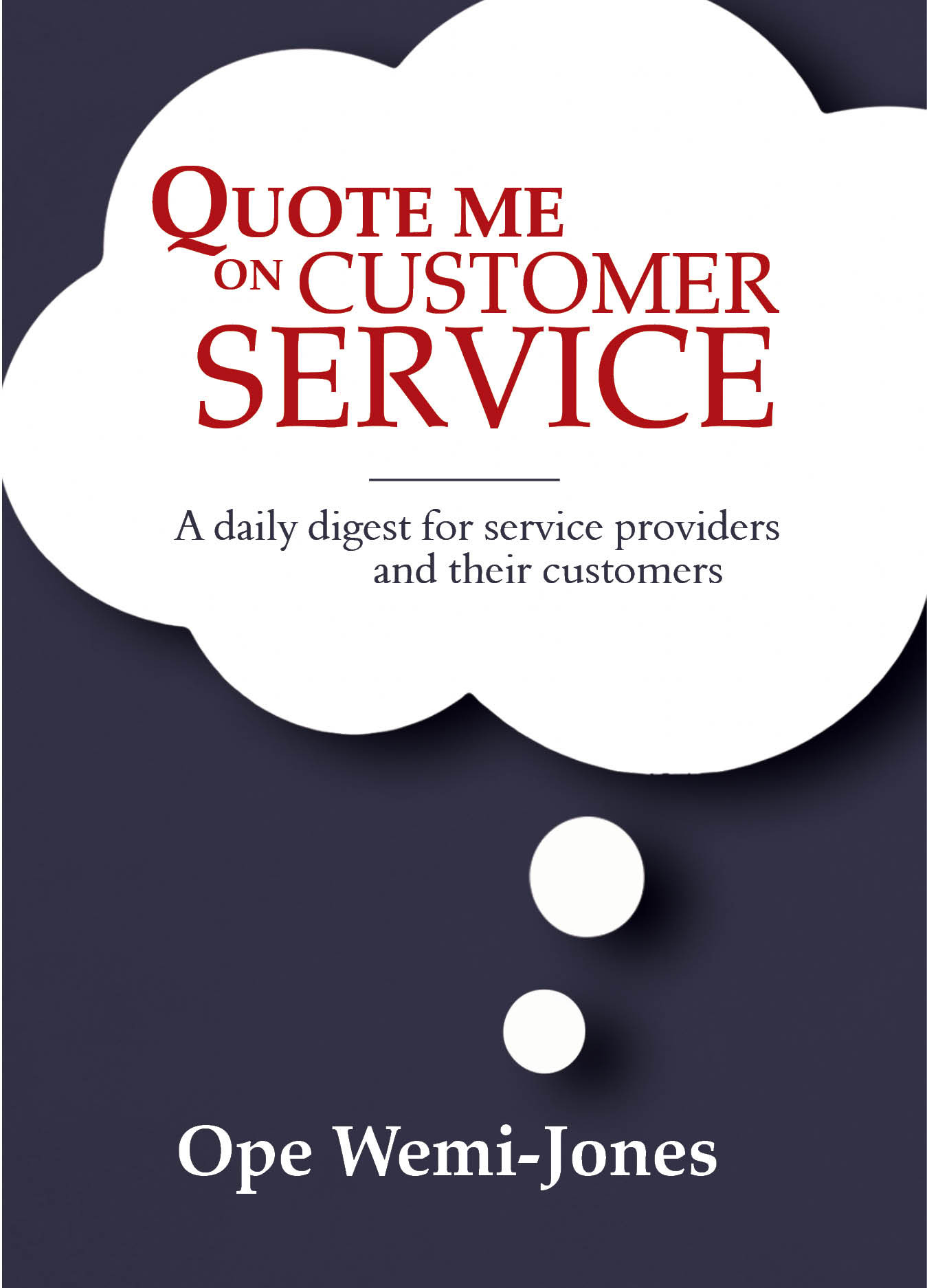 Quote Me on Customer Service