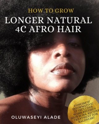 How to grow Longer natural 4C afro hair.