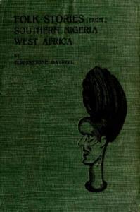 Folk Stories from Southern Nigeria ssr