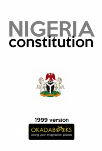 Constitution Of The Federal Republic Of Nigeria