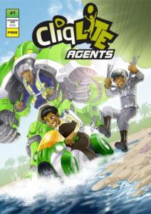 Cliqlite Agents Comic