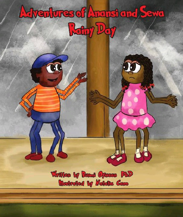 Adventures of Anansi and Sewa Spider - A Rainy Day