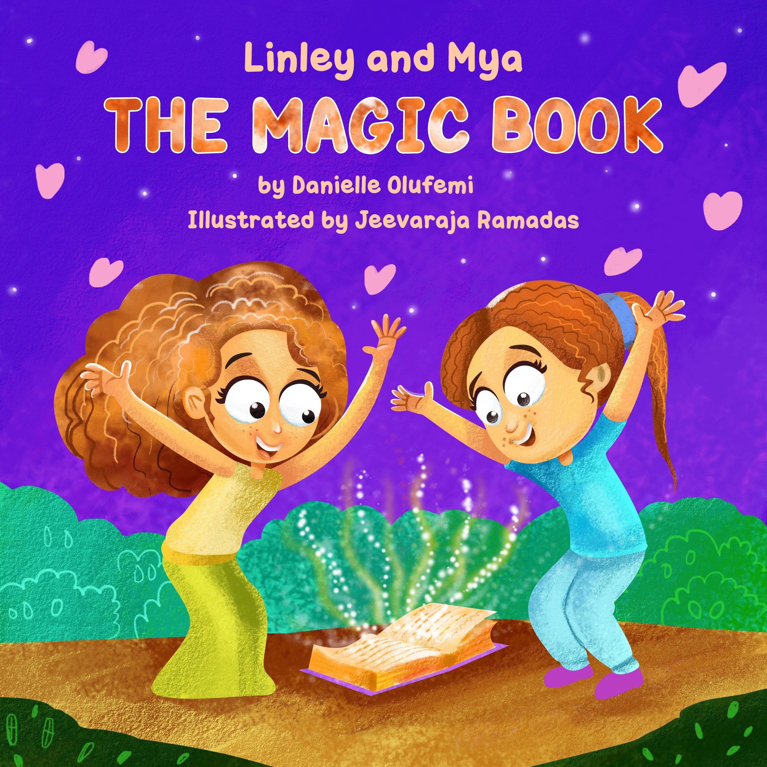 Linley and Mya - The Magic Book