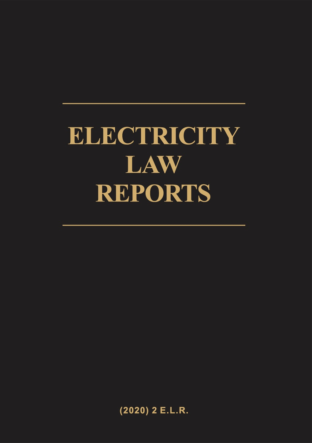 Electricity Law Reports Volume 2