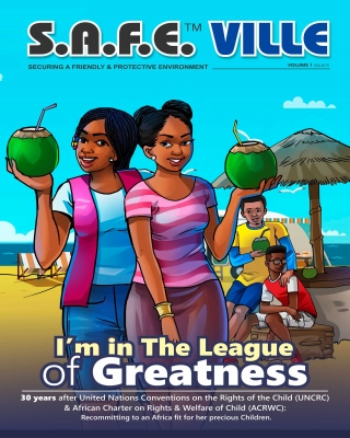 THE S.A.F.E™ VILLE FAMILY COMICS:I am in the league of greatness