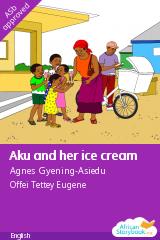 Aku and her ice cream