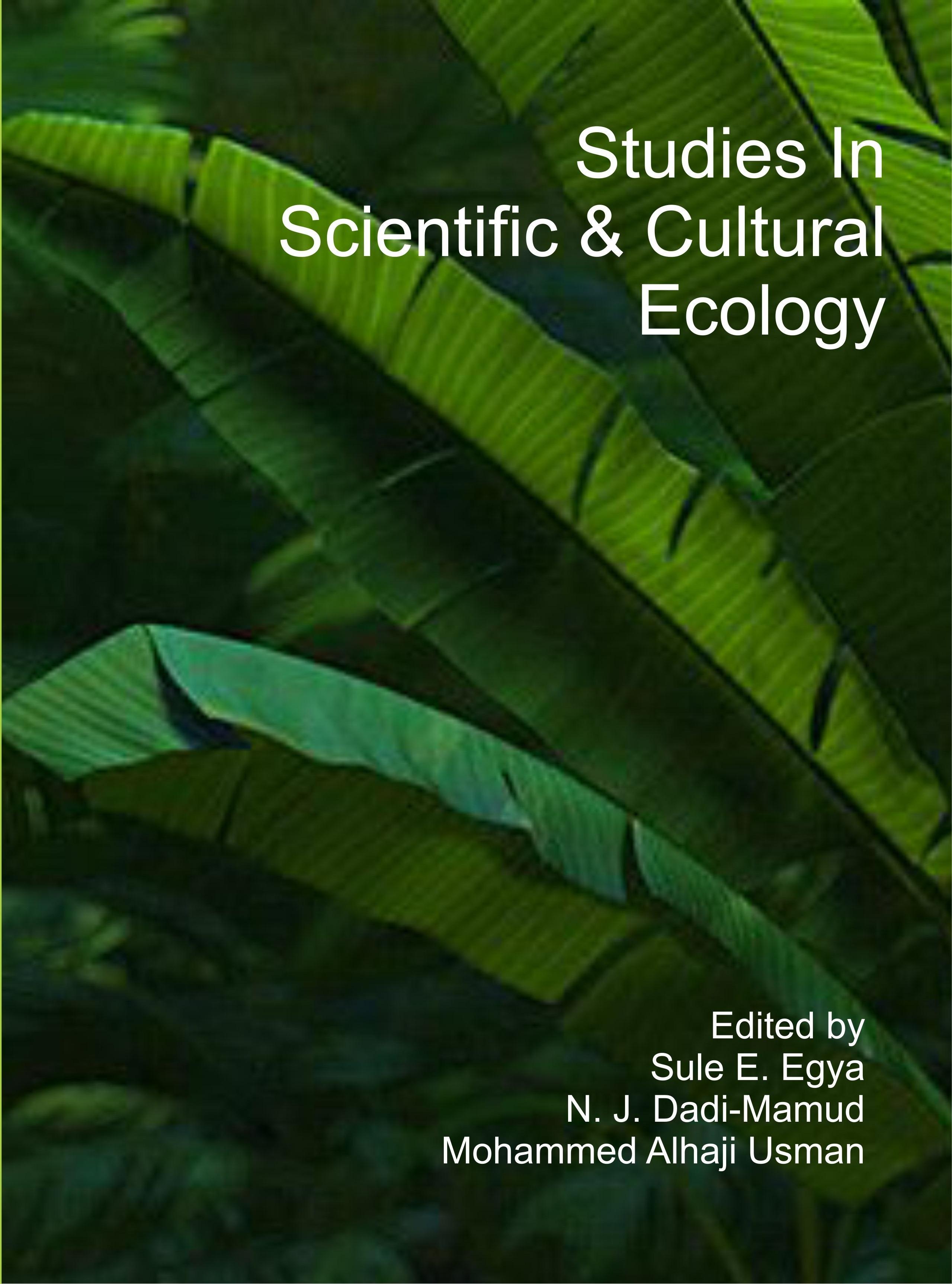 Studies In Scientific & Cultural Ecology
