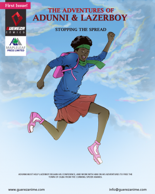 The Adventures of Adunni and LazerBoy: Stopping The Spread(COVID-