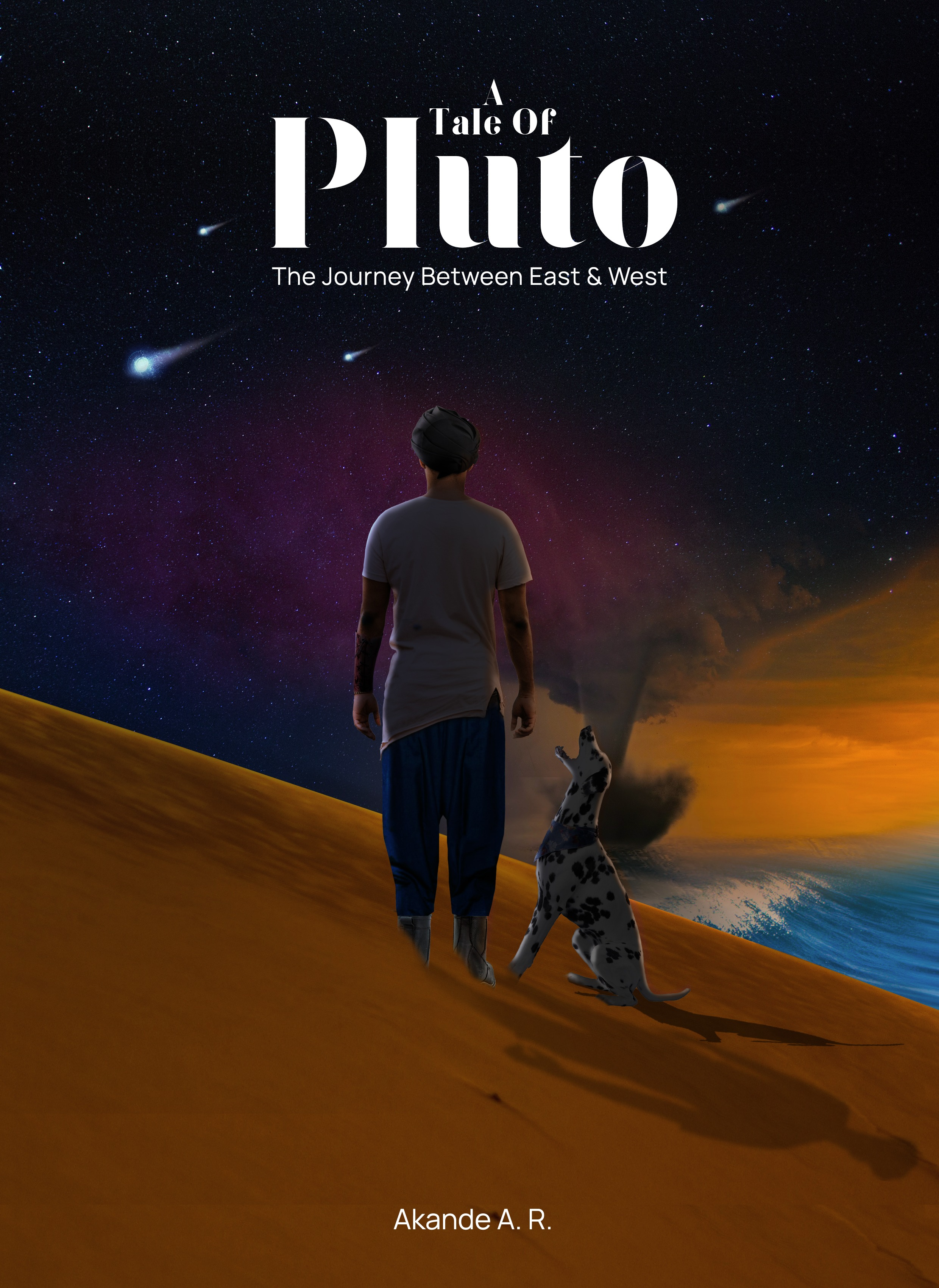 A Tale of Pluto: the Journey between east and west