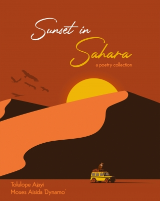 Sunset in Sahara