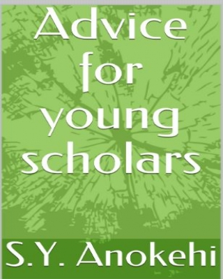 Advice for young scholars