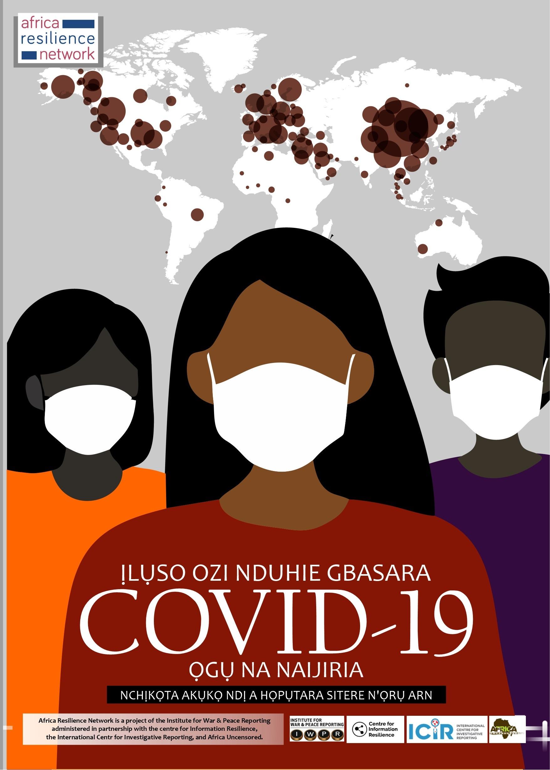 Ịlụso Ozi Nduhie Gbasara COVID-19 Ọgụ Na Naijiria