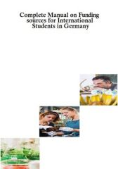 Complete Manual on funding sources for international students in Germany