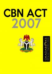 Central Bank Of Nigeria Act (2007) - #Ofilispeaks