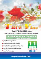 True Vine Daily Devotional