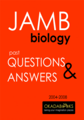 JAMB Biology 2004 to 2008 Questions & Answers