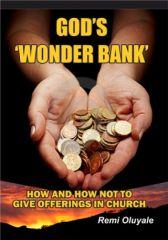 God's 'Wonder Bank' - Adult Only (18+)