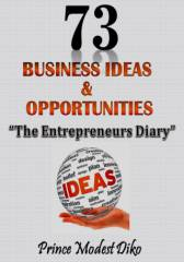 73 Business Ideas & Opportunities