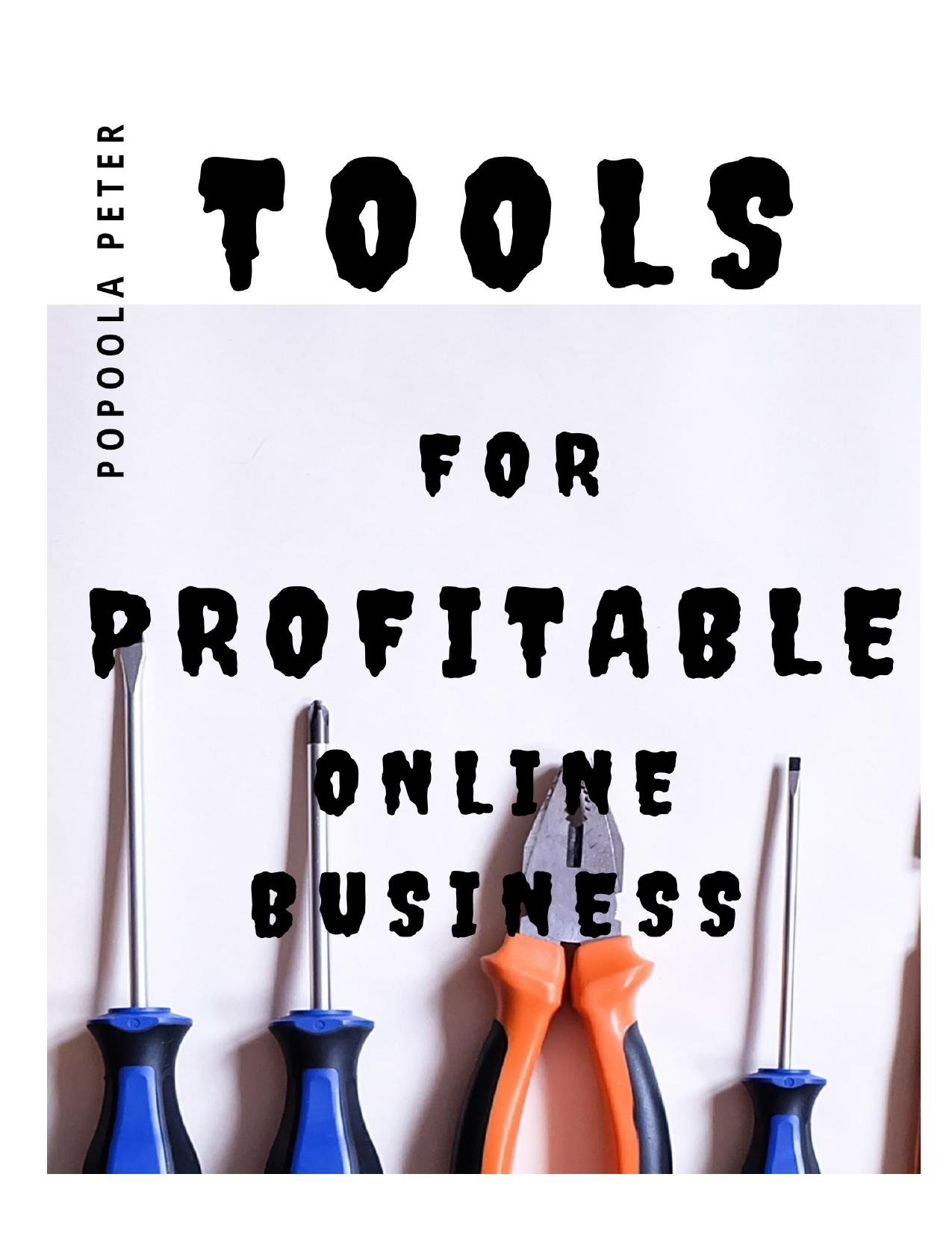Tools for Productivity