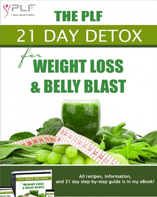 THE PLF 21 DAY DETOX FOR WEIGHT LOSS & BELLY BLAST