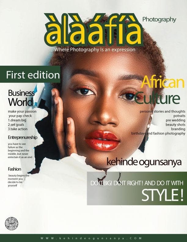àlàáfíà [PEACE] the magazine