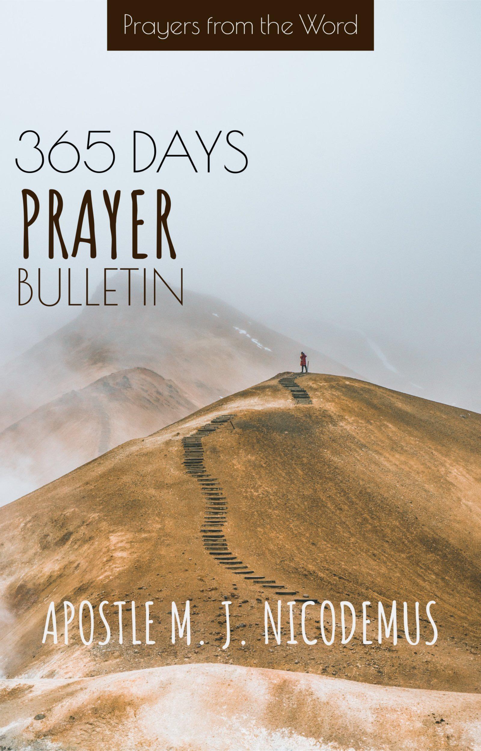 365 DAYS PRAYER BULLETIN